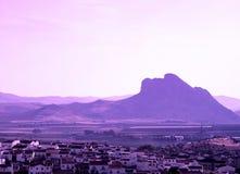 Lovers mountain, Antequera, Spain. Stock Photos