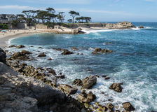 Lovers Point. On the Monterey Bay, Pacific Grove, California stock photos