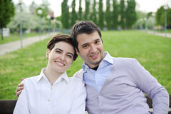 Lovers portrait Royalty Free Stock Photos