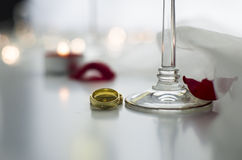 Lovers Rings Stock Photos