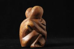 Lovers Sculpture Stock Image