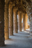 Lovers Viaduct, Park Guell Royalty Free Stock Images