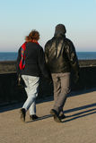 Lovers Walking Stock Photography