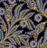 Lovertjes Naadloos Vectorpatroon Zonder gradiënt Royalty-vrije Stock Afbeeldingen