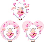 Lovesheep Royalty Free Stock Photos