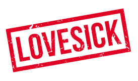 Lovesick rubber stamp Royalty Free Stock Photography