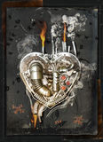 Lovesickness, 3D Illustration Stock Photography