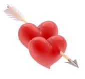 Lovestruck. vector illustratie
