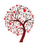 Lovetree Royalty-vrije Stock Foto