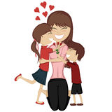 Lovin' mommy collection Royalty Free Stock Image