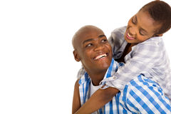 Loving african couple Royalty Free Stock Photo