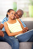 Loving african couple Royalty Free Stock Photography