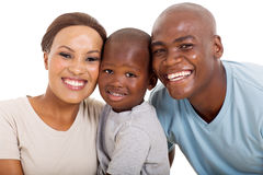 Loving african family Stock Images