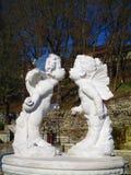 Loving angels, Kamenets Podolskiy, Ukraine Royalty Free Stock Image
