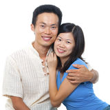 Loving Asian Couple Stock Image