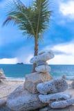 Loving the beach royalty free stock photos