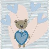 Loving bear Royalty Free Stock Photography