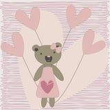 Loving bear Stock Image
