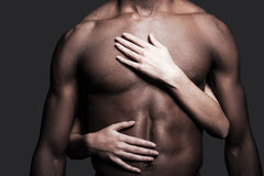 Loving this body. Stock Image