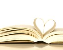 Loving books Royalty Free Stock Photography