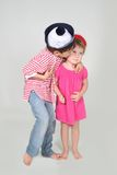 Loving brother and sister Royalty Free Stock Photography