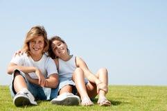 Loving children Stock Photo