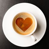Loving Coffee Royalty Free Stock Image