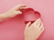 Loving Cookie cutter Stock Photos