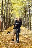 Loving couple Stock Photos