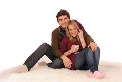Loving couple. Royalty Free Stock Image