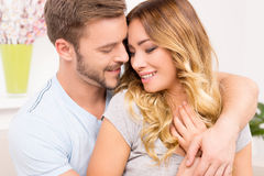Loving couple. Royalty Free Stock Photography