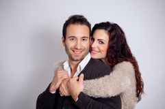 Loving couple embracing Royalty Free Stock Photo