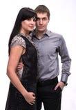 Loving couple embracing Stock Photos