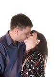 Loving couple kissing Stock Photo