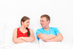 Loving couple looking at each other Stock Photo