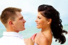 Free Loving Couple On The Coastline Royalty Free Stock Photos - 10400728