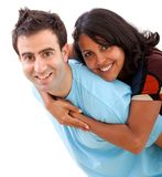 Loving couple portrait Royalty Free Stock Image