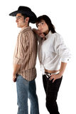Loving couple. Relationship. Royalty Free Stock Images