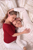 Loving couple relaxing royalty free stock photo