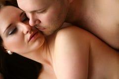 Loving couple,series Royalty Free Stock Photo