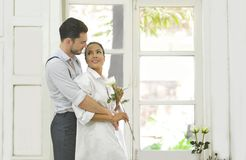 Loving couples Stock Image