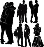 Loving couples Royalty Free Stock Images