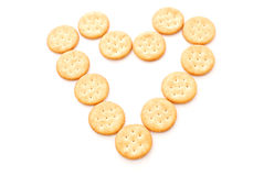 Loving Crackers Stock Photos