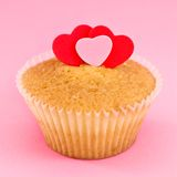 Loving Cupcake Royalty Free Stock Image