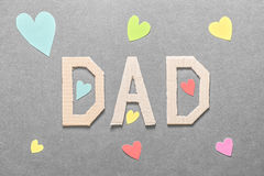 Loving dad Royalty Free Stock Photo