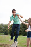 Loving Daughter and Father Stock Photography