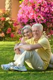 Loving elder couple Royalty Free Stock Photos