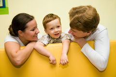 Loving family Royalty Free Stock Images