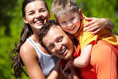 Loving family Stock Image