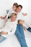 Loving family Royalty Free Stock Photo